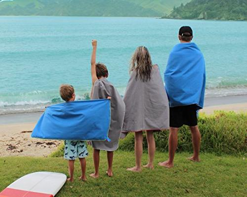 Super Towel Travel & Lightweight, Absorbent, Quick-Dry, Soft For the gym, & outdoors