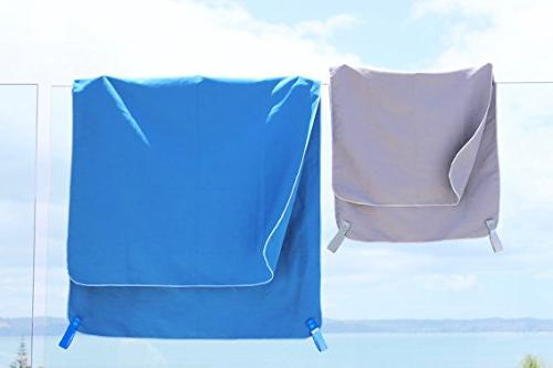 Super Towel for Sports, Travel & Lightweight, Soft For the pool, gym, yoga, hiking, &