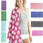 "Carmel Towel Company Polka Dot Velour Beach Towels 30"" x 60"""