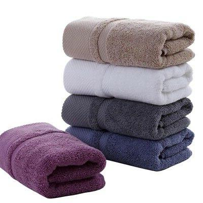 Useful 100% Cotton Towels Soft Bath Beach Shower Bathroom Quick