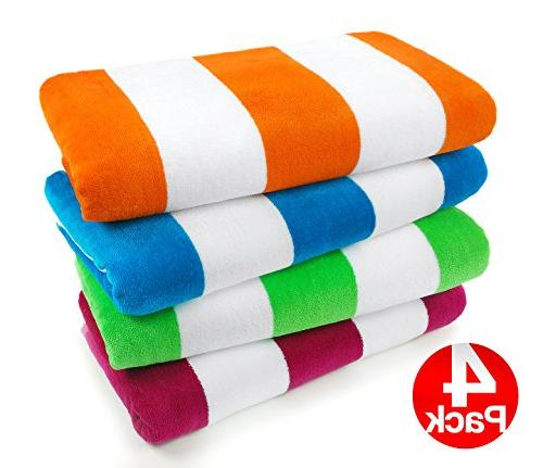 velour cabana towels