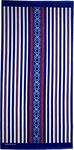 Vera Bradley Women's Beach Towel Bright Serape Stripe One Si
