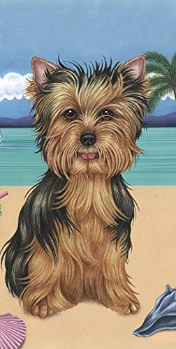 Yorkie Puppy Cut - Best of Breed Terry Velour Microfiber Bea