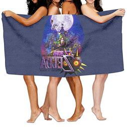 Uolongqul The Legend Of Zelda Majora's Mask Bath Towel Beach