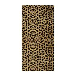 CafePress Leopard Skin Pattern Beach Towel