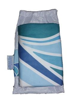 Norwex Limited Edition Luxury Suede Beach Towel With Mesh Ba