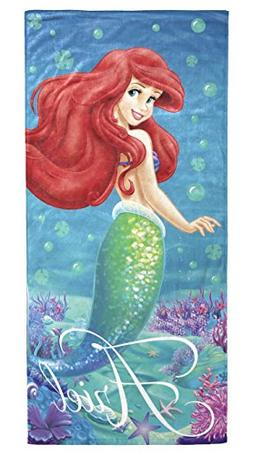 DISNEY THE LITTLE MERMAID ARIEL BEACH TOWEL 100% COTTON BEAC