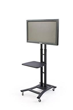 Tyke Supply llc Mobile Commercial TV Cart hold's LCD or Plas