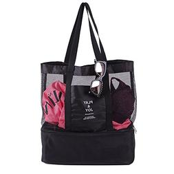 Lunch Bag Insulated Tote Large Capacity with Adjustable Shou
