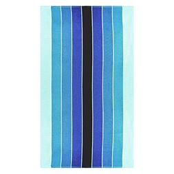 "Superior Luxurious 100% Cotton Beach Towels, Oversized 34"" x"