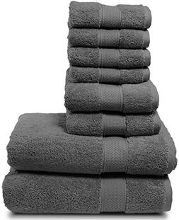 Luxury Bath Towel Set. Hotel & Spa Quality. 2 Large Bath Tow