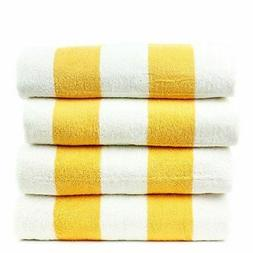 Luxury Hotel Collection 100% - Pool Beach Towel, Set of 2 -