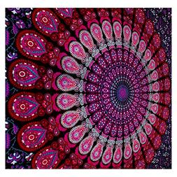 GLOBUS CHOICE INC. Mandala Tapestry Bohemian Wall Hanging, P