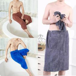 Men SPA Bath Shower Wrap Towel Microfiber Blanket Swimming B