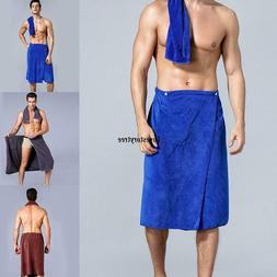 Men Wearable Microfiber Swimming Beach Bath Towel Shower Ski