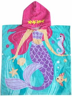 Athaelay Hooded Towel for Girls 1 to 5 Years Old Kids and To
