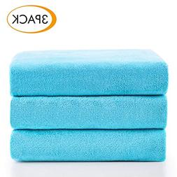 Jml Microfiber Bath Towels, Bath Towel 3 Pack, Oversized, So