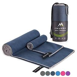 Arnuwa Microfiber Travel Towel Quick Dry Ultra Absorbent Com