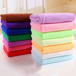 Microfiber Fiber Towels Bathing Spa Dryer Magic Hair Beach D