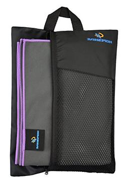 HOPESHINE Microfiber Travel Gym Towels Fast Drying Compact B