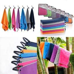 Syourself Microfiber Sports & Travel Towel with Travel Bag &