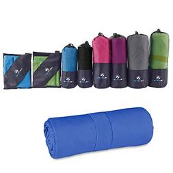 MountFlow Microfiber Towel - Quick Dry Micro Travel Towels f