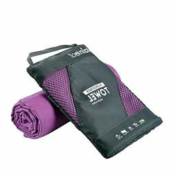 Rainleaf Microfiber Towel Perfect Travel & Sports &Beach Tow