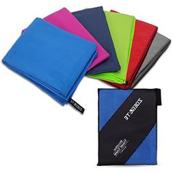 Zoegate Premium Microfiber Towel Travel Sports Towel XXL Ult