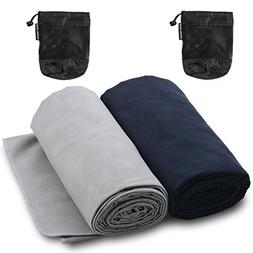 The Friendly Swede Microfiber Towels for Sports, Travel, Swi
