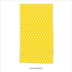 Vipsung Microfiber Ultra Soft Hand Towel-Yellow Decor Picnic