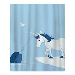 MAMINA Narwhal Love Unicorn Kids/Child Luxury Fast Drying Be