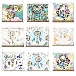 National Style Watercolor Dream Catcher Pattern Tapestries B