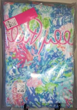 NEW LILLY PULITZER Beach Towel Pool Towel FISHED MY WISH GWP