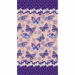 New Beach Towels Butterflies Velour Towel, 40x72 Inches Made
