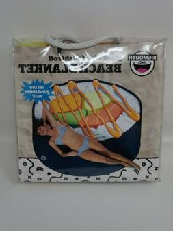 """New GIANT-SIZED 64"""" x 59."""" Sushi Roll Beach Blanket Pool Tow"""