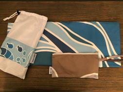 NEW Norwex Limited Edition Luxury Suede Beach Towel With Mes