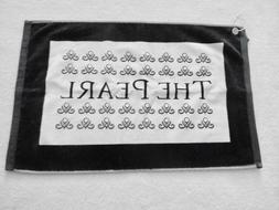 NEW- THE PEARL GC Golf Towel- Myrtle Beach NC- Size: 16 x 25