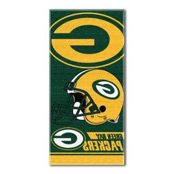 NFL Green Bay Packers Double Covered Beach Towel, 28 x 58-In