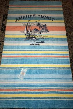NWT - TOMMY BAHAMA 40 x 70-Inch OFFSHORE Beach Towel 100% Co