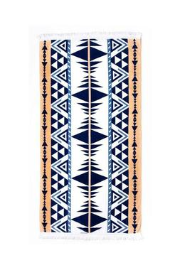 NWT $75 Tofino Beach Towel Maverick Geometric pattern Picnic