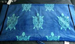 NWT Vera Bradley Beach Towel MARINE TURTLES New Pattern
