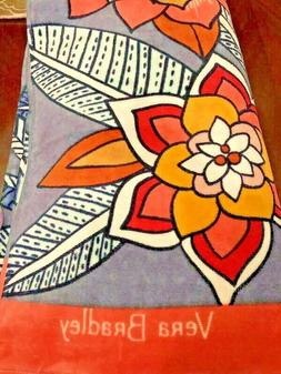 NWT Vera Bradley Beach Towel TROPICAL EVENING New Pattern NW