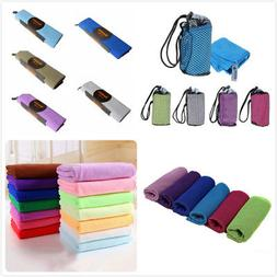 Outdoor Quick Dry Microfiber Towel Bath Sports Gym Travel Sw