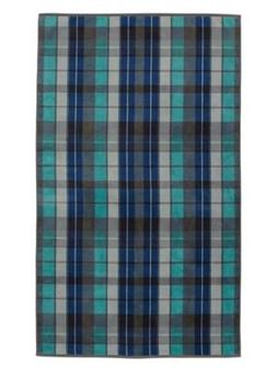 Pendleton Over-Sized Cotton Beach Towel, Original Surf Plaid