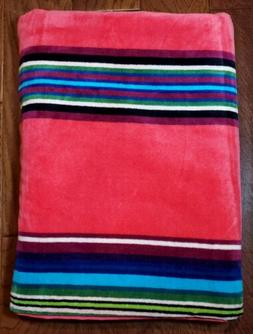 Pendleton Oversize Beach Spa Pool Luxury Towel Pink Multi St