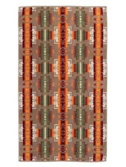 Pendleton Large Over-Sized Jacquard Bath and Spa Towel, Chie