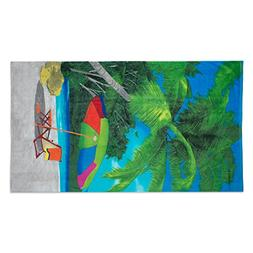 """Oversized Extra-Large Terry Cotton Beach Towe, 40x70"""", Soft"""