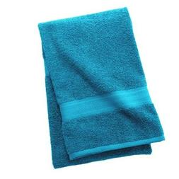 "Pack of 4 The Big One Solid Bath Towel 30/"" x 54/"" 100/% Cotton NAVY BLUE"