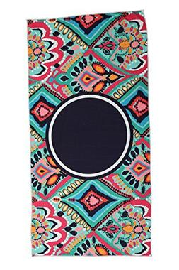 SOFTBATFY Paisley Microfiber Beach Towel-Best for Outdoor &