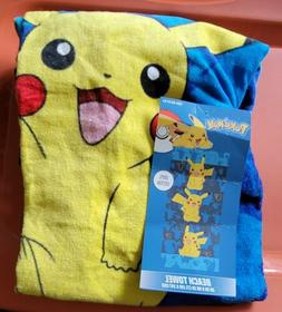Pokemon Peek and Pose Kids Beach Towel Best Price FAST 2 DAY